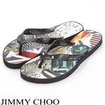 JIMMY CHOO(ジミーチュー) ビーチサンダル FLIP FLOP M