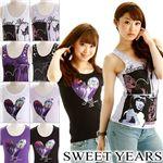 SWEET YEARS(スイートイヤーズ) レディース Tシャツ&タンクトップ 【A】01SF51046 SEIRA ラベンダーM