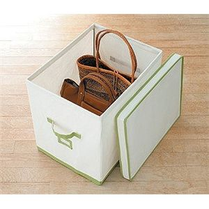 ユニコム 収納ボックス 帆布ボックス 34cm幅 XL