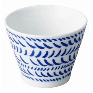 キントー グラフィックス ブラッシュカップ ブルー 5個セット