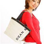 DEAN&DELUCA(ディーン&デルーカ) トートバッグ SMALL 171395 WHITE