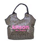 kitson(キットソン) スパンコールショルダーバッグ 4001 LEOPARD(レオパード)