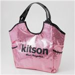 kitson(キットソン) SEQUIN トートバッグ 3375 PINK/BLACK