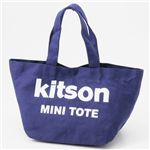 kitson(キットソン) ミニトートバッグ 3540 NAVY/WHITE