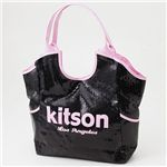 kitson(キットソン) スパンコール バッグ SEQUIN BAG Black×Pink