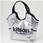 kitson(キットソン) スパンコール バッグ SEQUIN BAG Silver×Black