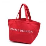 DEAN&DELUCA(ディーンアンドデルーカ)ミニトートバッグ 171055 レッド