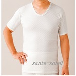 極上(三層)キルト 紳士半袖シャツ Mの詳細ページへ