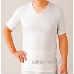 極上(三層)キルト 紳士半袖シャツ Lの詳細ページへ