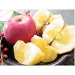 【お歳暮用 のし付き(名入れ不可)】福島県産りんご プレミアム蜜サンふじ5kg(16〜18玉) 【贈答用大玉】