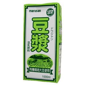 有機栽培大豆使用 ドウジャン 1000ml*6