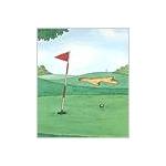 オリジナル絵本(ゴルフの本)の詳細ページへ