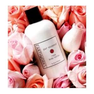 アースワークス・ボディーローション ローズの香り(EarthWorks Products)