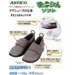 すたこらさんソフト05 両足(ブラック) サイズ:25.0〜25.5  機能充実で低価格 【アスティコ】