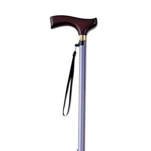 kind ware(カインドウェア) 伸縮折りたたみ杖 とってもステッキ カラー 96cmタイプ パープル