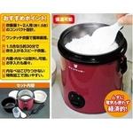 小型炊飯器 ライスクッカーの詳細ページへ