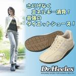 ウォーキングシューズ Dr.Heeles(ドクターヒーレス) カジュアル ブラック 22.5cm