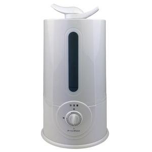 超音波式加湿器 【4L/8〜12畳向け】 連続使用時間約12時間 安全機能付き