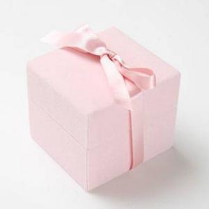 メッセージ・プリザーブド★プチローザ(ピンク色BOX)★