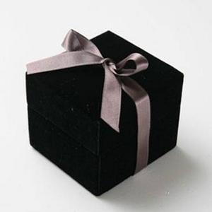 メッセージ・プリザーブド★プチローザ(黒色BOX)★