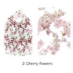 HAM−15絞りバッグ Cherry flowersの詳細ページへ