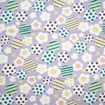 coco−cloth小風呂敷 ポップ梅 紫の詳細ページへ