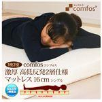 Comfos(コンフォス) 低反発+高反発 2層式マットレス 16cm シングル