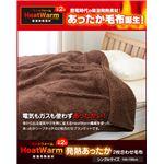 Heat Warm(ヒートウォーム) 発熱あったか2枚合わせ毛布 シングル アイボリー
