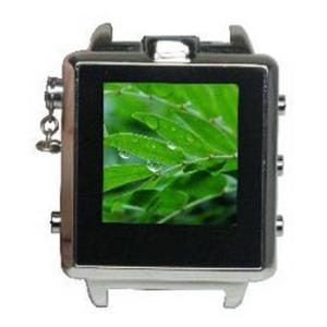 【小型カメラ】腕時計型 ビデオカメラ激安! LCDシルバー時計型★800万画素!