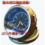 【小型カメラ】 最新モデル!置時計型ビデオカメラ  ★動体検知機能搭載★