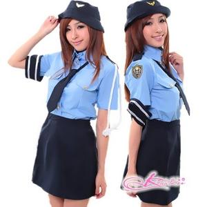 コスプレ 婦警 リアル交通課婦警さん制服 婦人警官さん