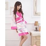 コスプレ ピンクセット 豪華な花柄着物 浴衣