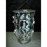 ミラーリーフ ガラス花瓶【406024】