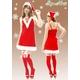 【サンタクロース コスプレ 衣装】2010年新作☆クリスマスサンタ・ショートドレス S404☆
