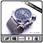 1080Pレンズ防水腕時計カメラ