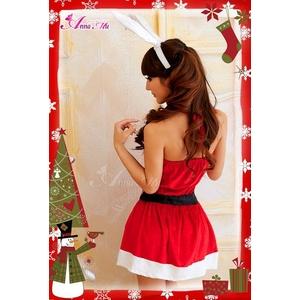 コスプレ 2011年新作 クリスマス☆サンタクロースコスプレセット/コスチューム/s007