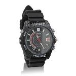 防水腕時計型ビデオカメラ (Fラバー)