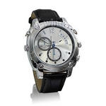 防水腕時計型ビデオカメラ (Dレザー)