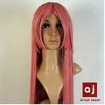 耐熱高級繊維 コスプレに欠かせないカラーウィッグ COSPLAY Sピンク