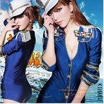 【青】 帽子付コスプレ セーラー服♪【5397】