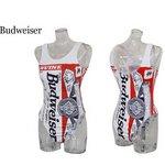 Budweiser バドガール ハイレグ【M】ホワイト