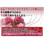 """【通信講座】""""魔法の花""""プリザーブドフラワー講座 [テキスト&DVD]の詳細ページへ"""