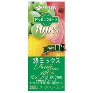 伊藤園 ビタミンフルーツ 熟ミックス 紙パック 200ml×72本セット