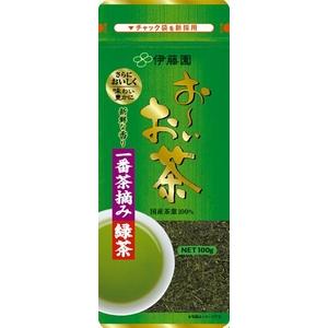 伊藤園 お~いお茶 一番摘み緑茶【100g×10本セット】