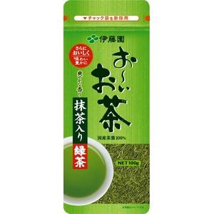 伊藤園 お~いお茶 抹茶入り緑茶【100g×10本セット】