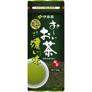 伊藤園 お~いお茶 濃い味緑茶【100g×10本セット】