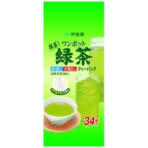 伊藤園 お~いお茶 ワンポット緑茶【34袋×10本セット】