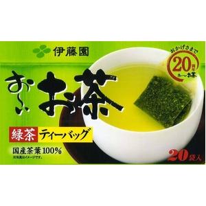 伊藤園 お~いお茶 緑茶ティーバッグ【20袋×20本セット】
