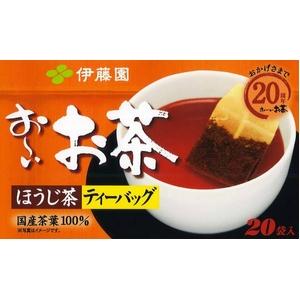伊藤園 お~いお茶 ほうじ茶ティーバッグ【20袋×20本セット】