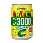 【2011年12月29日17時までのご注文は年内出荷】伊藤園 メガビタミン C3000 スカッシュ M缶 280ml×72本セットの詳細ページへ